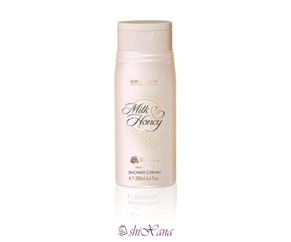 شاور کرم شیر و عسل اوریفلیم Oriflame Milk and Honey Gold Moisturising Shower Cream